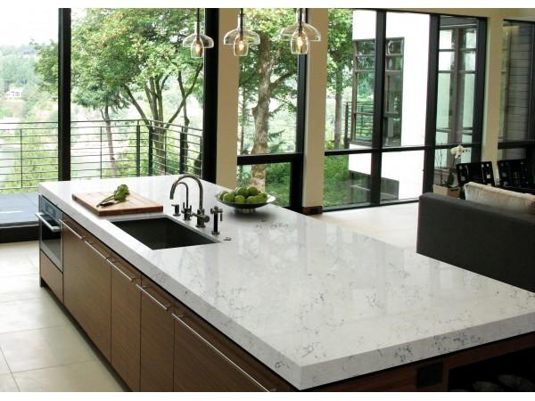 M03  Bianca Carrara Quartz Countertops