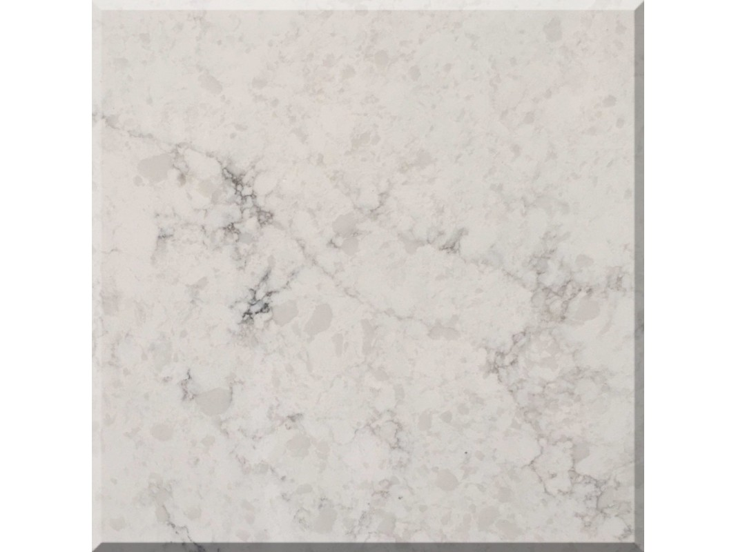 Wholesale organic white quartz slabs for Quartz countertop slab dimensions