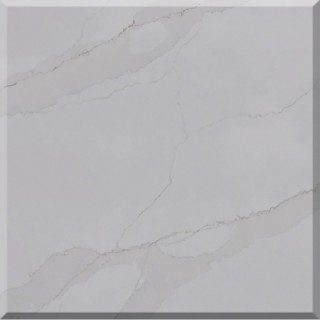 MG91-W Golden Calacatta Quartz Slab