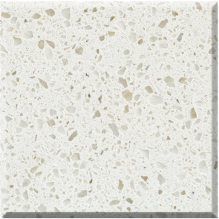 C11 Pearl White Quartz Slab
