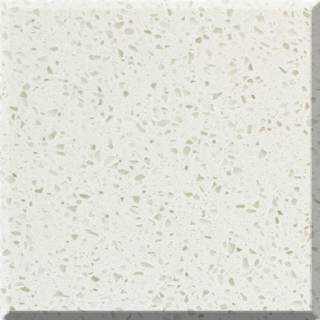 C16L Arena Polar Quartz Slab