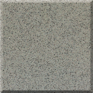 C34 Gris Grey Quartz Slab