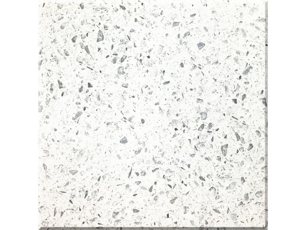 Diamond White Quartz Slab Kitchen Countertop Manufacturers