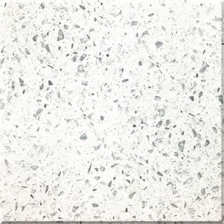F35 Diamond White Quartz Slab