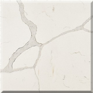 M01 Calacatta White Quartz Slab
