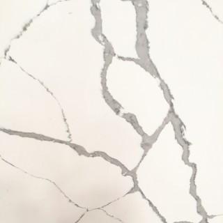 M38 Calacatta Hachure Quartz Countertops