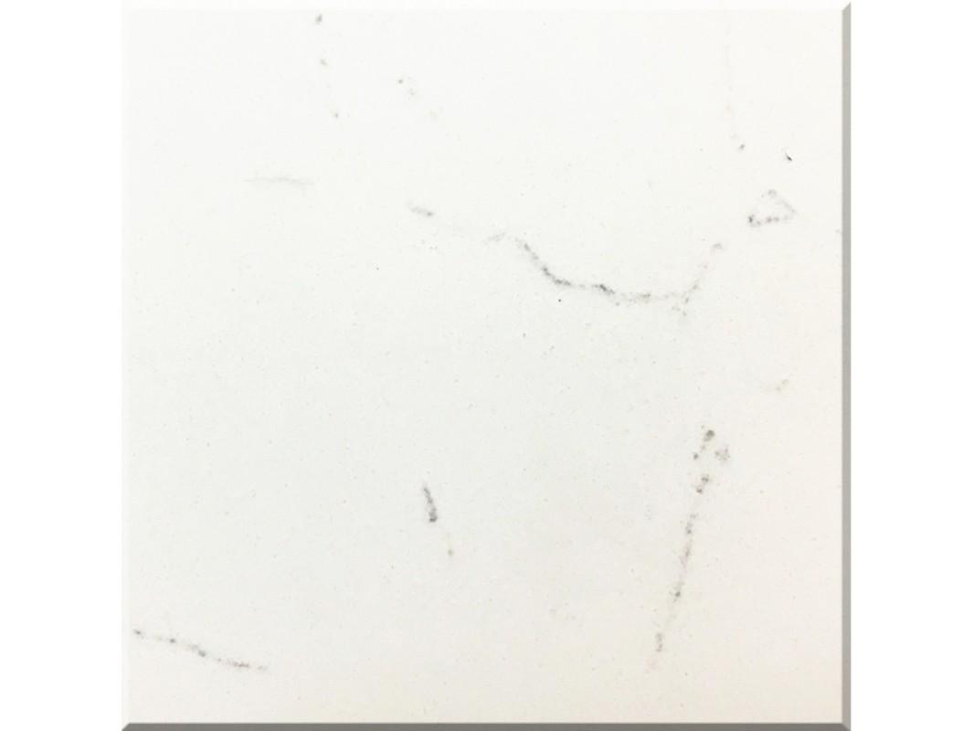 Wholesale cashmere carrara white engineered quartz for Quartz slab size