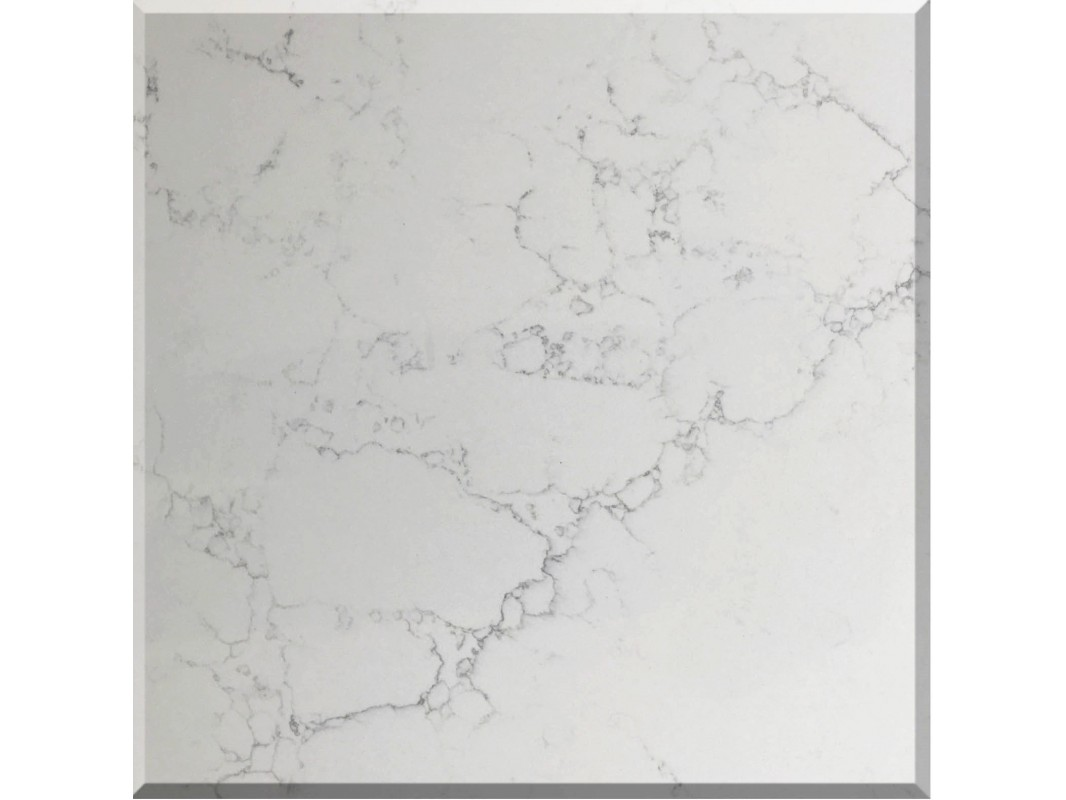 Wholesale bianca carrina white quartz slab kitchen countertops for Quartz slab size