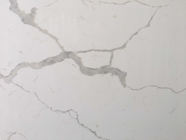 M01 Calacatta White Quartz Vanity Tops