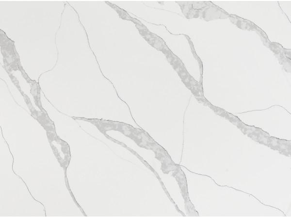 M131 Calacatta Vene Quartz Slab